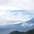 三つ峠山荘前からの富士山